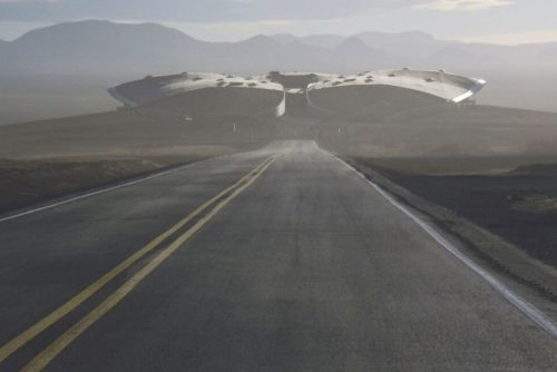 camino al espaciopuerto Gateway to Space