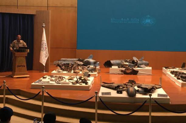 Imágenes de Conferencia de prensa Saudi Arabia. Fuente: Bloomberg-Getty Images